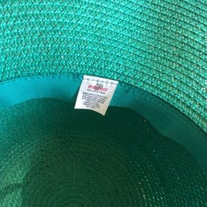 Nordstrom Accessories - Aqua Green Wide Brim Sunhat
